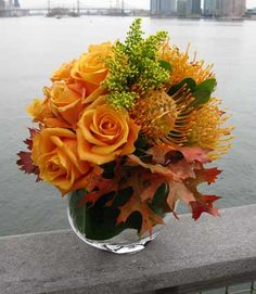Welcome your friend or loved one's fall baby with a festive flower deliver to NYC Hospital or Bellevue #FreshFlowers