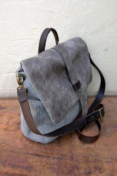 Crossbody Diaper Bag Messenger Bag Shoulder Bag by RuthKraus