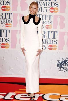 BRIT Awards 2015: gala, zwycięzcy i gwiazdy. Karlie Kloss