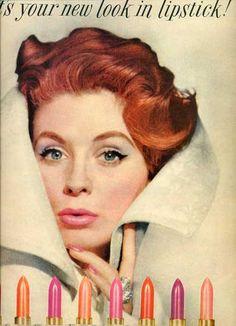 1950's lipstick commercial. #bipainspiracija