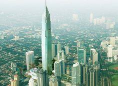 Signature Tower Jakarta segera dibangun, akan menjadi gedung tertingi di Indonesia.