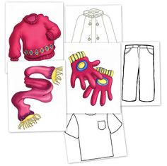 Bits de ropa de vestir
