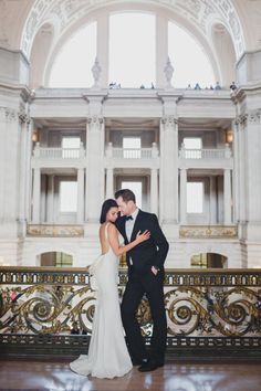 Intimate San Francisco City Hall Wedding by Lily Ro Photography