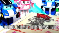 Мультфильмы про машинки. Робокар Поли. Про войну! Игровой мультфильм для детей Они сражались за Родину, Серия 3