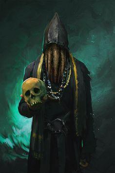 Psst, want some skulls?, Emilis Emka on ArtStation at https://www.artstation.com/artwork/gaKam