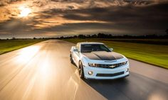 The 2013 Chevrolet Camaro 1LE takes the course at GingerMan Raceway in South Haven, Michigan.  Photo by FPI Studios.