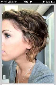 When I make the big cut this is how I want it to look!
