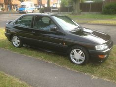 1993 FORD ESCORT RS 2000 BLACK TAX AND MOT - http://www.fordrscarsforsale.com/949