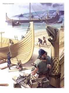chucrutypilsen:  Angus Mcbride - Vikings