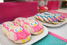 Owl cookies