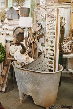 Comfort and Joy Sweet Salvage Comfort And Joy, Vintage Market, Clawfoot Bathtub, Ceilings, Christmas Time, Antiques, Sweet, Inspiration, Vintage Marketplace