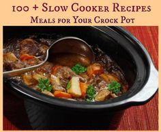 100+ Amazing Crock Pot Recipes - Just 2 Sisters