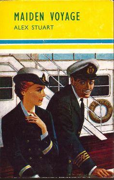 1964 Maiden Voyage Vintage British Romance Novel