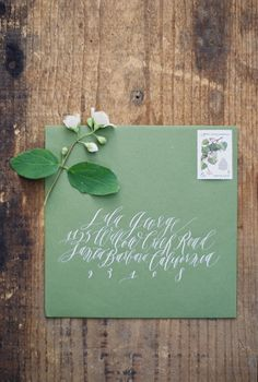 Paper Design: Garden Party Editorial — Feast Fine Art & Calligraphy