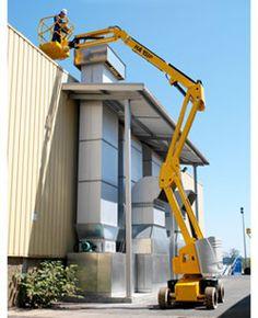HA 43 JE Articulating Boom Lift - http://www.buymanlifts.com/product/ha-43-je-articulating-boom-lift/