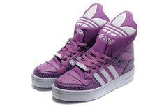 Adidas Originals Metro Attitude Fashion W Purple White Shoes