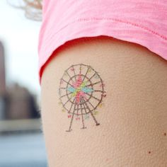 Ferris Wheel Temporary Tattoo - this would be so cool  ---Need extra cash? Click here:  http://www.earnyouronlineincomefast.com