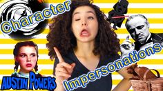 Character Impersonations | Vivian King