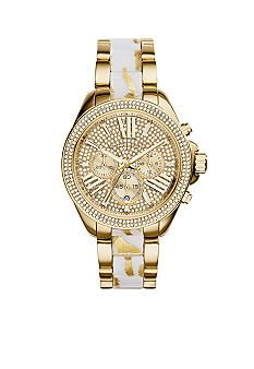 Michael Kors Gold-Tone Wren Watch