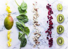 Pomegranate Mango Antioxidant Salad