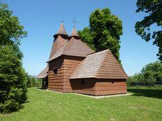 Trocany wooden church.