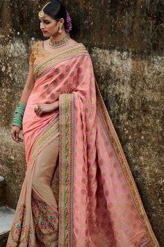 b4144d3299 Designer Sarees Collection, Saree Collection, Georgette Sarees, Silk Sarees,  Saris, Party