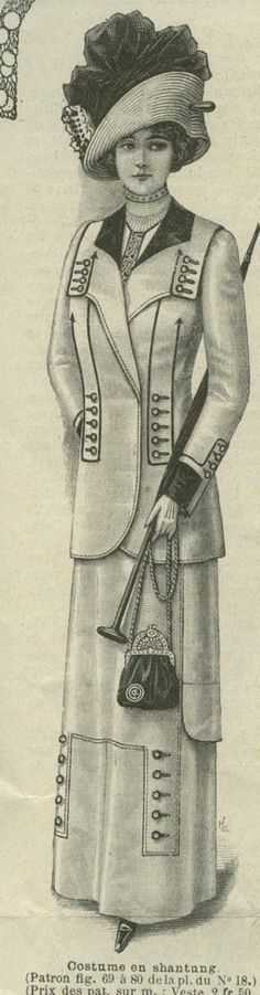 Mode ILLUSTREE APRIL23 1911 Clothing Patterns | eBay