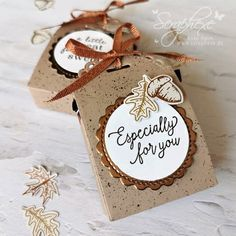 Treat Bags, Gift Bags, Punch Board, Treat Holder, Thanksgiving Cards, Fall Cards, Little Boxes, Card Tags, Stampin Up