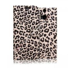 Funda tarjetero diseño leopardo para HTC M8 - Esta funda tarjetero diseño leopardo para HTC M8 está diseñada para usar su móvil el uso diario y así mantiene seguro su móvil como el primer día, con funcion soporte y tarjetero