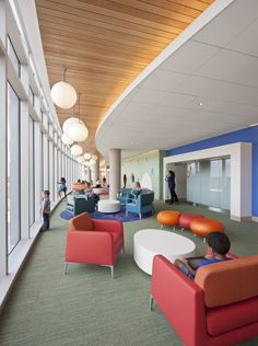 Healthcare Nemours Children's Hospital Healthcare Design, Orlando, FL, USA #healthcare