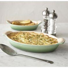 Le Creuset -- Au Gratin Dishes, Set of 2