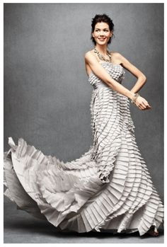 modern wedding dress- BHLDN