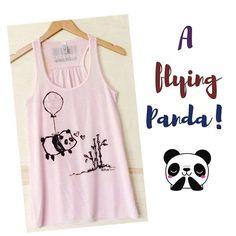 f1fb1f0f2259a5 I love this Steppie panda racerback shirt! Great panda clothing Christmas  gift idea for women. Pandaloon