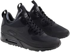 ca24c00a82 Nike Men's Air Max 90 Mid Winter Black Shoes - Landau Store - Product  Review - May 26, 2019