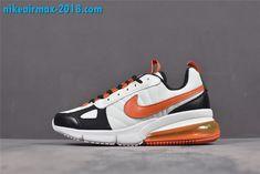 brand new fc6d9 ea7a5 Nike Air Max 270 Frtura AO1569-006 White Black Orange Mens Running Shoes nice   nike  nikeairmax270  mensfashion  mensshoes  fashion  airmax  sneakers    ...