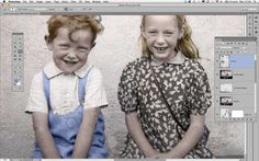 How to restore old photos: step 18