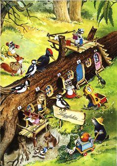 Tony Wolf's illustration                   una delle mie preferite!