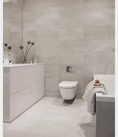 Badrumsinspo till huset. Vi valde att ha helgrått i stora badrummet, hoppas nu det blir lika snyggt i verkligheten som på bild😍 Toilet, Bathroom Ideas, Bathrooms, Home, Bathroom Modern, Photo Illustration, Flush Toilet, Bathroom, House