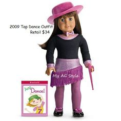 American Girl Doll 2009 Tap Dance Outfit