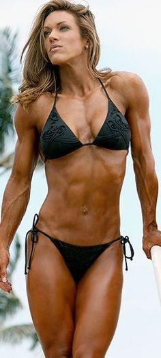 bikini Fitness woman in