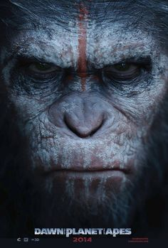 Andy Serkis as Caesar in Dawn of the Planet of the Apes [Primates & Humans Battle for Global Dominance]