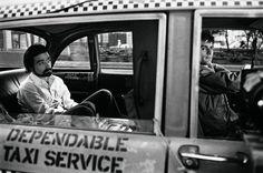 Martin Scorsese and Robert De Niro on the set of Taxi Driver in 1975. Photo courtesy of Taschen; copyright Steve Schapiro