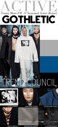 FASHION VIGNETTE: TRENDS // TREND COUNCIL - JUNIORS AND YOUNG MENS . FW 2017