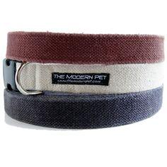 Basic Hemp Dog Collar via Modern Pet