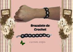 DIY:BRAZALETE DE CROCHET