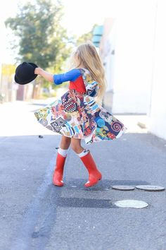 Hats off to our beautiful girls party dress. the Harajuku spin dress. Boy Fashion, Trendy Fashion, Fashion Outfits, Style Fashion, Fall Clothes For Girls, Smart Outfit, Colorful Hoodies, Girls Party Dress, Business Fashion