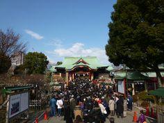 """""""Kameido Tenjin"""" (Sacrario), Kameido Tokyo Japan(Gennaio)"""