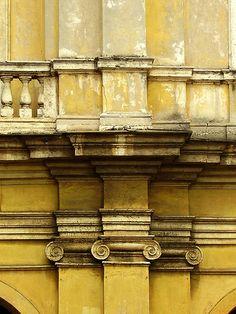 Ionic Order: Santa Bibiana, Rome, Italy.