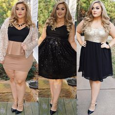 Plus Size Fashion - Loey Lane on Instagram