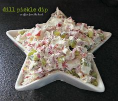 Love those dill pickle wraps? The ones with the cream cheese and dried beef? Then this dip will have you grinning from ear to ear! Dill Pickle Dip, Dip Recipes, Snack Recipes, Yummy Recipes, Yummy Food, Dinner Recipes, Kitchen Recipes, Noel, Kitchens